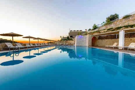 Super Escapes Travel - Five Star Seven nights all inclusive luxury Crete holiday with return flights - Save 22%