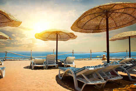 Super Escapes Travel - Five Star Seven nights luxury all inclusive Hurghada beach break with return flights - Save 27%