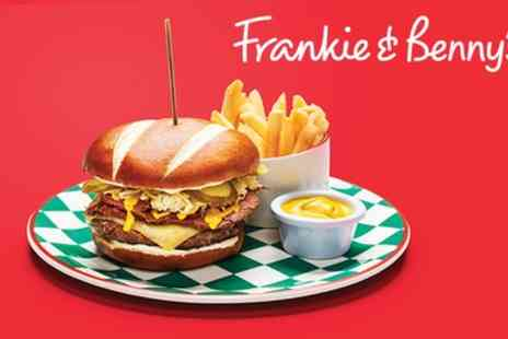 Frankie and Bennys - Two Course A La Carte Meal for Two and Optional Bottle of Wine to Share - Save 55%