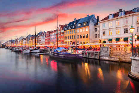 Travel Center - Two nights Copenhagen holiday with return flights - Save 45%