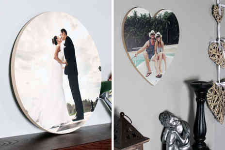 Your Perfect Canvas - 12 x 12 inch personalised wooden photo print or 16 x 16 inch print - Save 81%