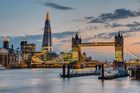 Omega Breaks - Four Star Overnight London Tower Bridge hotel stay, ticket to the Shard, Thames River Cruise and breakfast - Save 30%