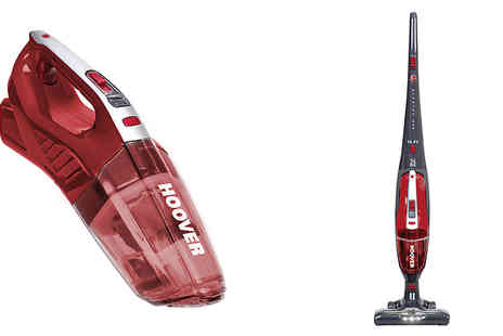Love Home Brands - Hoover FE144AG Cordless 2 in 1 Upright Vacuum - Save 34%