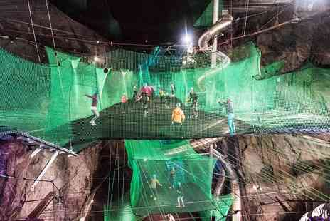 Zip World - Underground trampolining in Snowdonia for Two - Save 30%