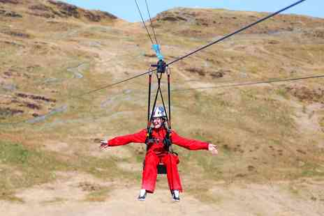 Zip World - Zip line and caving adventure in Snowdonia - Save 31%
