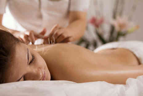 Natural Health Centre - Wellbeing package with 30 minutes of acupuncture, 15 minutes of cupping, a 15 minute massage and a consultation - Save 66%