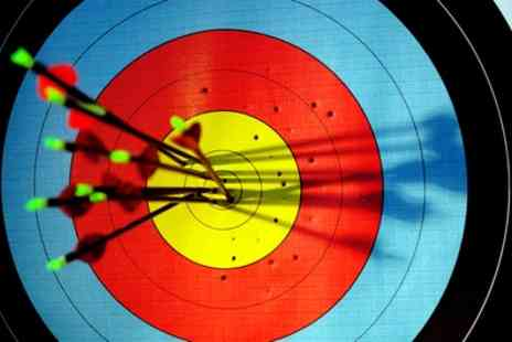 TNR Coaching - 90 Minute Axe Throwing, Air Rifle and Archery Experience for Up to Four - Save 0%