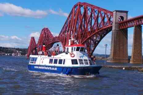 Maid of the Forth - 1.5 Hour Sightseeing Cruise, see all the Forth Bridges and amazing wildlife - Save 0%