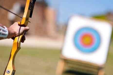 Back 2 Bear - One Hour Archery and One Hour Knife and Axe Throwing Experience for Up to Four - Save 57%