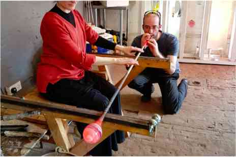 Virgin Experience Days - Introduction to Glassblowing with Creative Vibe Hot Glass Studio - Save 0%