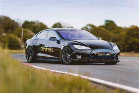 Virgin Experience Days - Tesla Model S On Track Driving Experience - Save 0%