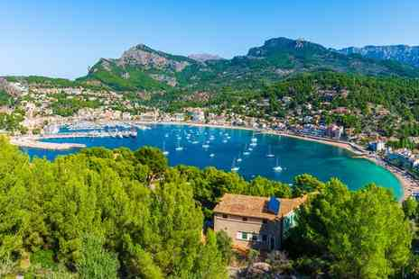 Fergus Soller Beach - Four Star Modern Hotel Overlooking Soller Marina and Bay for two - Save 50%