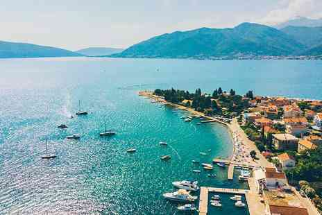 Bargain Late Holidays - Four Star Four nights all inclusive Montenegro stay with sea view room and flights - Save 36%