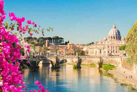 Crystal Travel - Four Star Four nights Rome and Venice holiday with train transfer and return flights - Save 45%