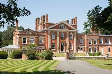 The Park Spa at Warbrook House - Spa day with afternoon tea, bubbly or G&T, two ESPA treatments - Save 69%