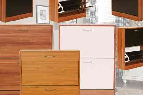 Cosmo Buy - Three drawer shoe cabinet - Save 71%
