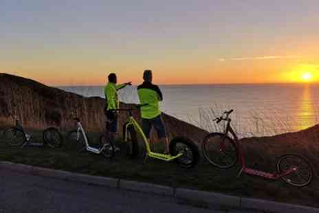 iScootbike - Guided Scooter Bike Tour for One, Two or Four - Save 40%