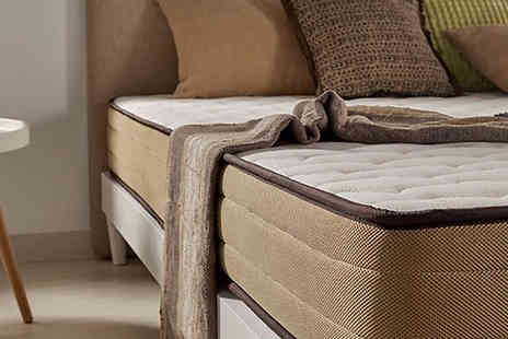 MGB Lifestyles - Luxury Bamboo Comfort Mattress Available in Three Sizes - Save 91%
