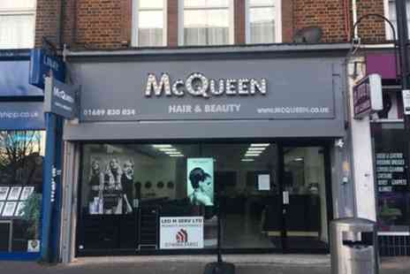 McQueen Hairdressers - Wash, Cut and Blow Dry with Optional Conditioning Treatment - Save 60%