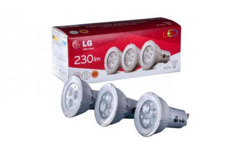 Bellap - Six pack of LG Led warm white energy saving bulbs - Save 77%