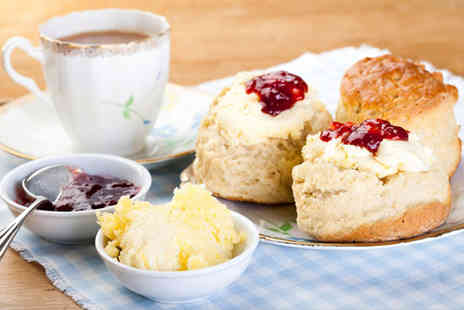 The Old Station Cafe - Cream tea for two - Save 62%