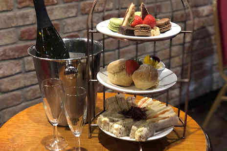 The Engine Shed - Afternoon tea for two with a bottle of Prosecco to share - Save 42%