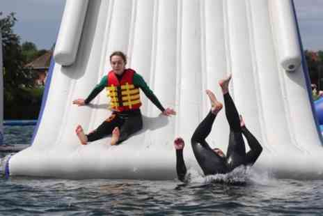 Aqua Parcs - One Ticket to Inflatable Waterpark Adventure Course - Save 15%