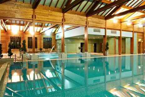 Bannatyne Spa - Deluxe spa package for two people with four treatments each, facility access, a cream tea - Save 64%
