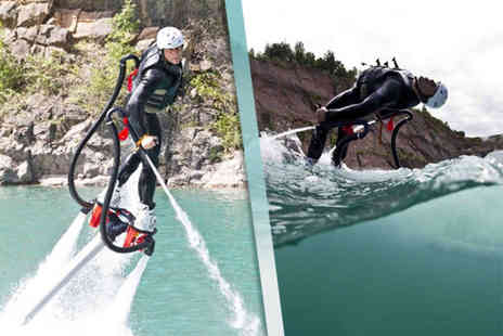 Big Crazy - 90 minute fly boarding experience for one - Save 21%