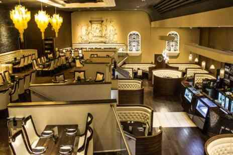 Badshah Palace Restaurant - Three Course Indian Meal with Drink or Mocktail for Two or Four - Save 39%