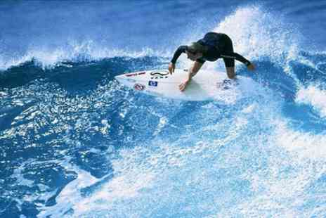 Walking On Waves Surf School - One hour surf lesson & keep the kit for the rest of the day - Save 0%