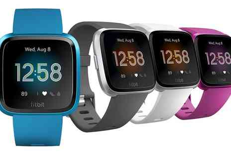 Groupon Goods Global GmbH - Fitbit Versa Lite Health and Fitness Smartwatch With Free Delivery - Save 0%