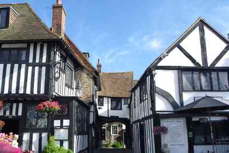 The Mermaid Inn - Historic Rye inn stay with breakfast - Save 45%