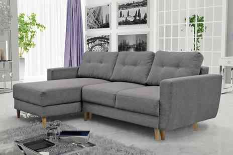 Selsey - Bertram Scandi corner sofa bed - Save 0%