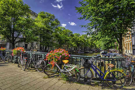 Super Escapes Travel - Two nights luxury Amsterdam city break with flights - Save 20%