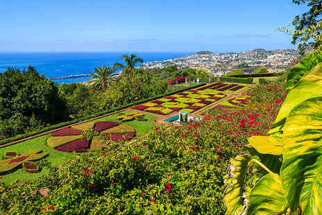 Super Escapes Travel - Three nights luxury half board Madeira getaway and return flights - Save 25%