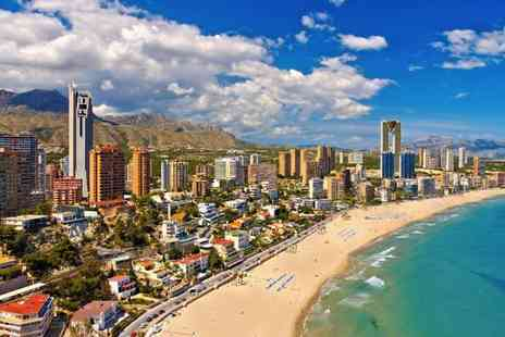 Super Escapes Travel - Four nights all inclusive Benidorm holiday with return flights - Save 42%