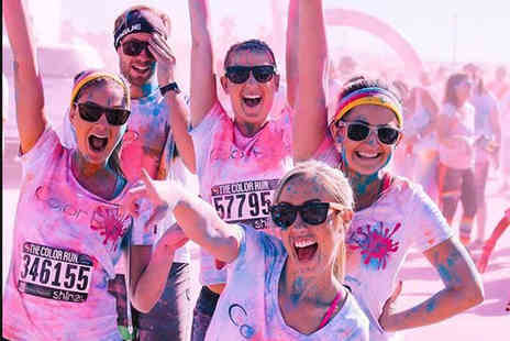 The Color Run - Enjoy entry to the unique 5k Color Run with a race pack - Save 25%