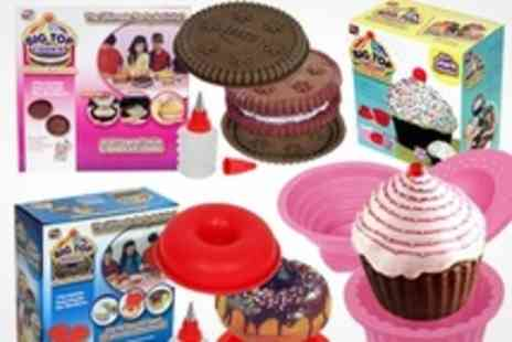 ebeez.co.uk - Giant Cupcake, Cookie, and Doughnut Moulds - Save 60%