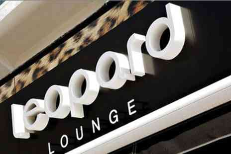 Leopard Lounge - Wash, Cut and Blow Dry with Glass of Prosecco - Save 45%