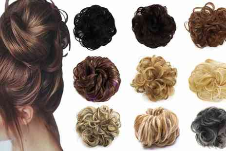 Groupon Goods Global GmbH - Messy Bun Scrunchie Hair Extension - Save 0%