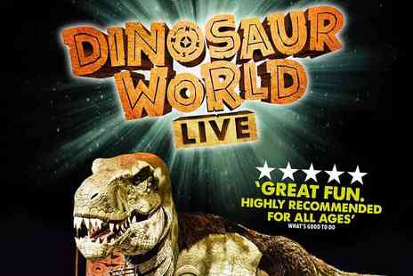Nicoll Entertainment - Dinosaur World Live An Interactive Jurassic Theatre Experience - Save 31%