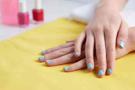 Tone and Tan - Shellac Application on Fingers or Toes or Both - Save 29%