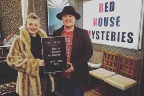Red House Mysteries - Escape Game for Up to Four or Six - Save 44%