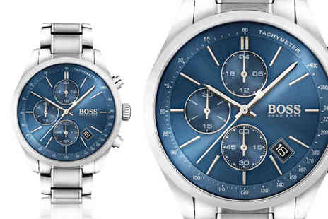 Hip Watches - Mens Hugo Boss Grand Prix Chronograph watch - Save 59%