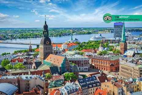 Cheap Cost Travel - Four Star Escape with a two, three or four nights getaway to Riga Now with the ability to choose your flight - Save 0%
