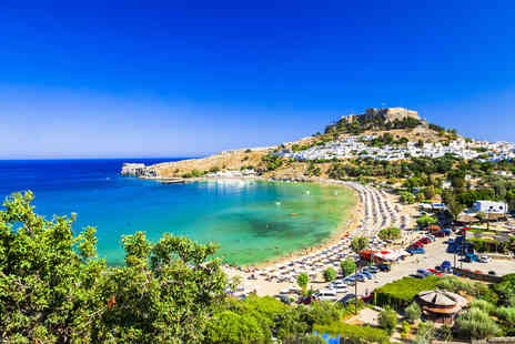 Bargain Late Holidays - Four Star all inclusive seven nights Rhodes break with flights, welcome drink, early check in and check out and spa discount - Save 43%