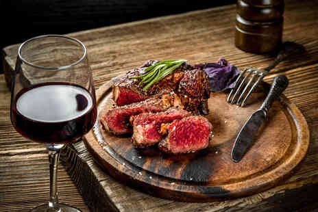 Bazil Brasserie - Steak dinner for two people, include wine - Save 53%