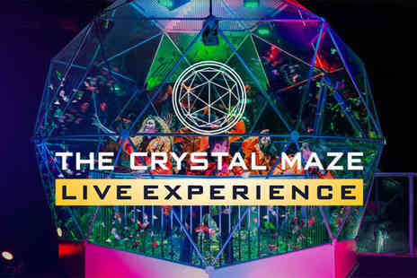 The Crystal Maze Studios - Crystal Maze Live experience for four people - Save 56%