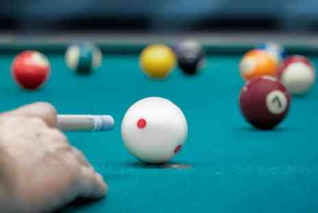 East Station Snooker Club - Two Hours of Pool and Burger Meal for Two or Four - Save 46%
